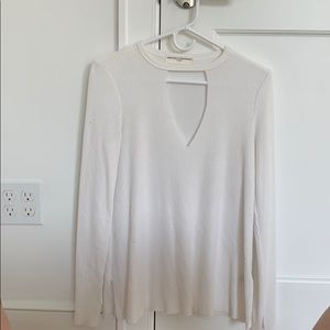 Urban Outfitters long sleeve cut out